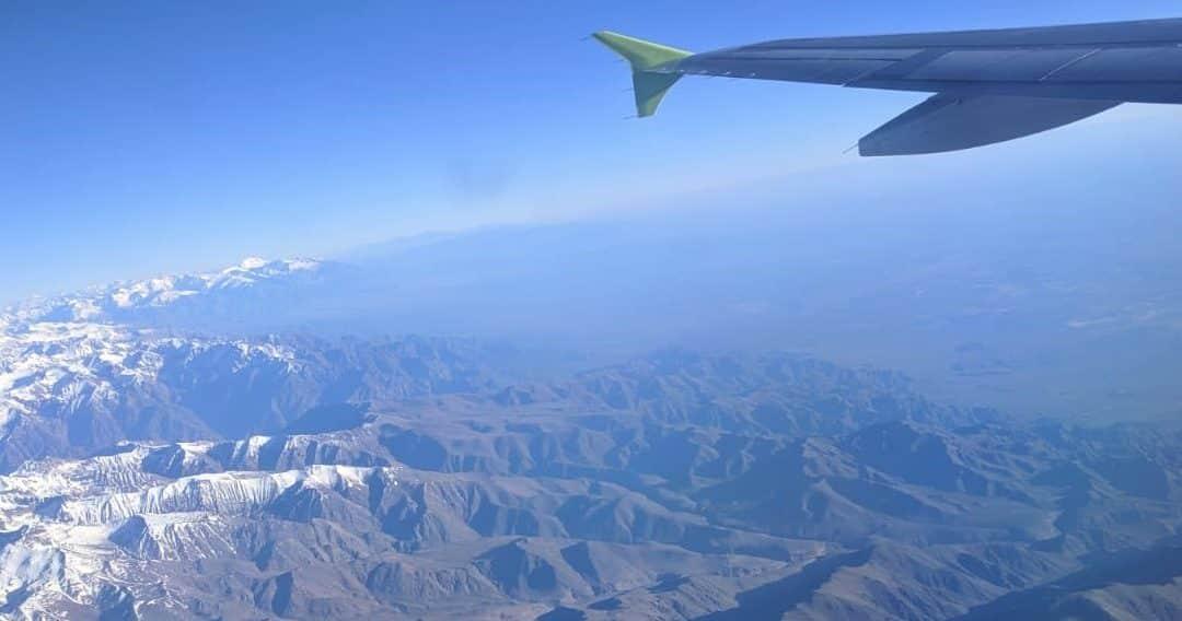 ¡Cruzamos la Cordillera!